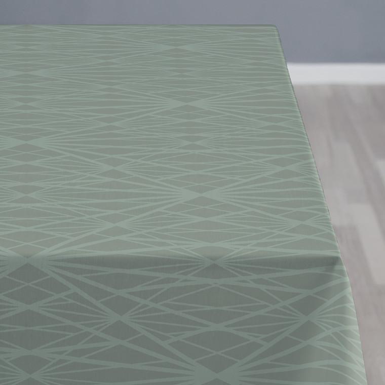 SÖDAHL Diamond Grid dug 140 X 270 cm leaf