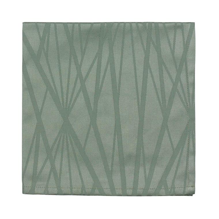 SÖDAHL Diamond Grid mundserviet leaf green