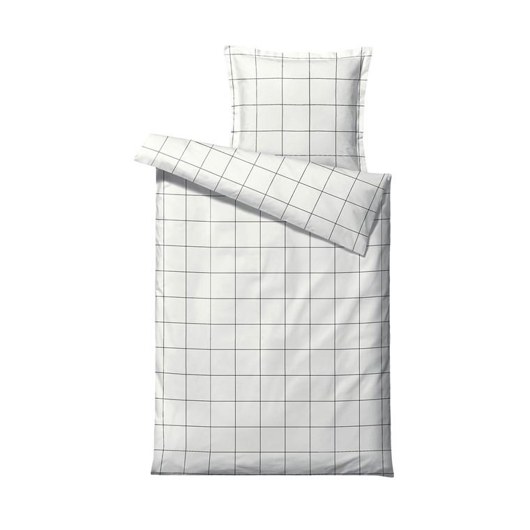 SÖDAHL Minimal sengetøj 140x220 cm white