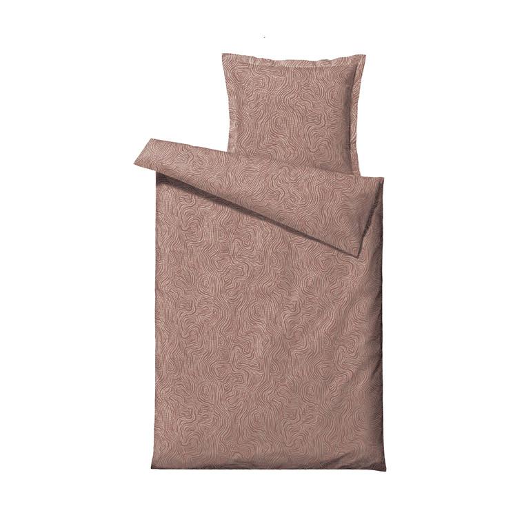SÖDAHL Movement sengetøj 140x200 cm terracotta