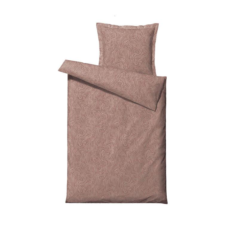 SÖDAHL Movement sengetøj 140x220 cm terracotta