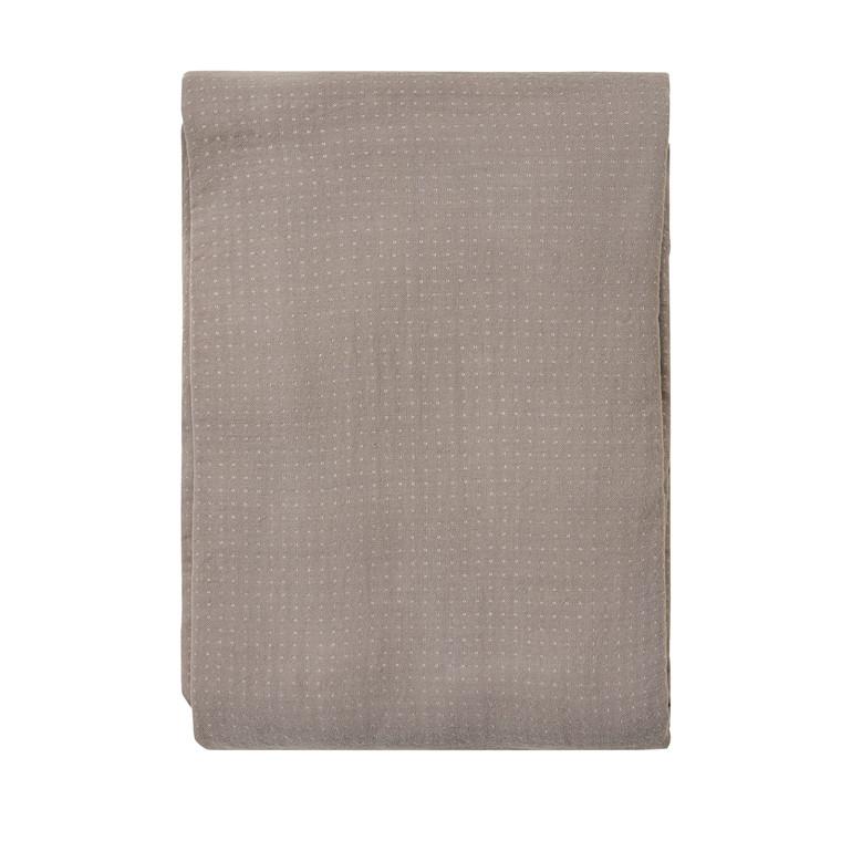 SÖDAHL Sengetæppe 200x260 Point grå