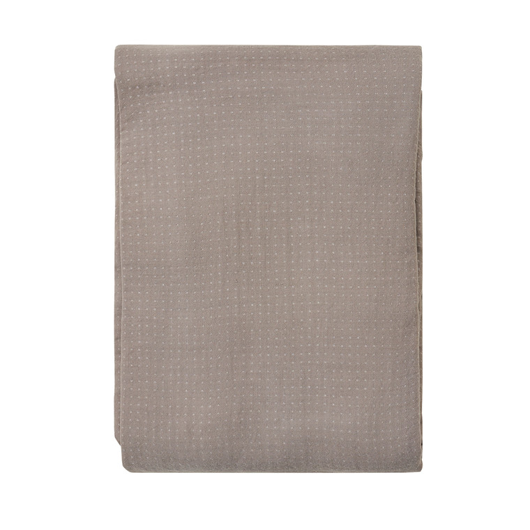SÖDAHL Sengetæppe 240x260 Point grå
