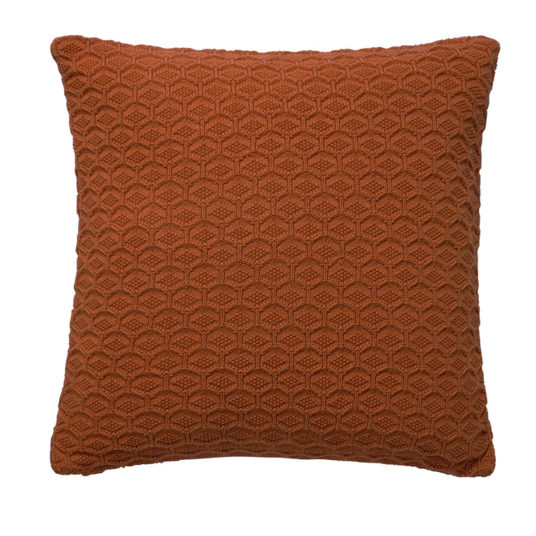 SÖDAHL Pude 50x50 Deco knit terracotta