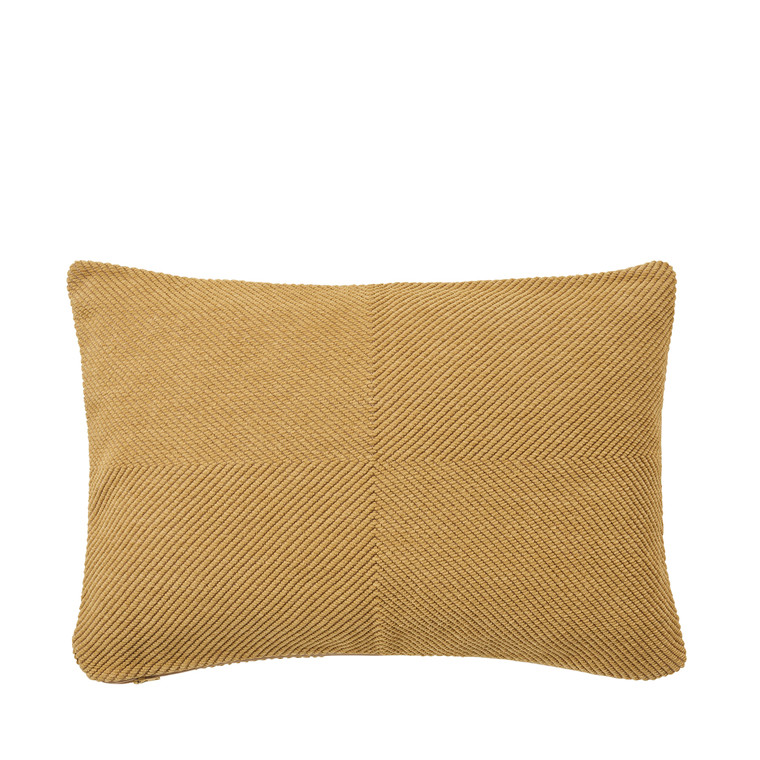 SÖDAHL Modest chenille pude 40x60 cm golden sand