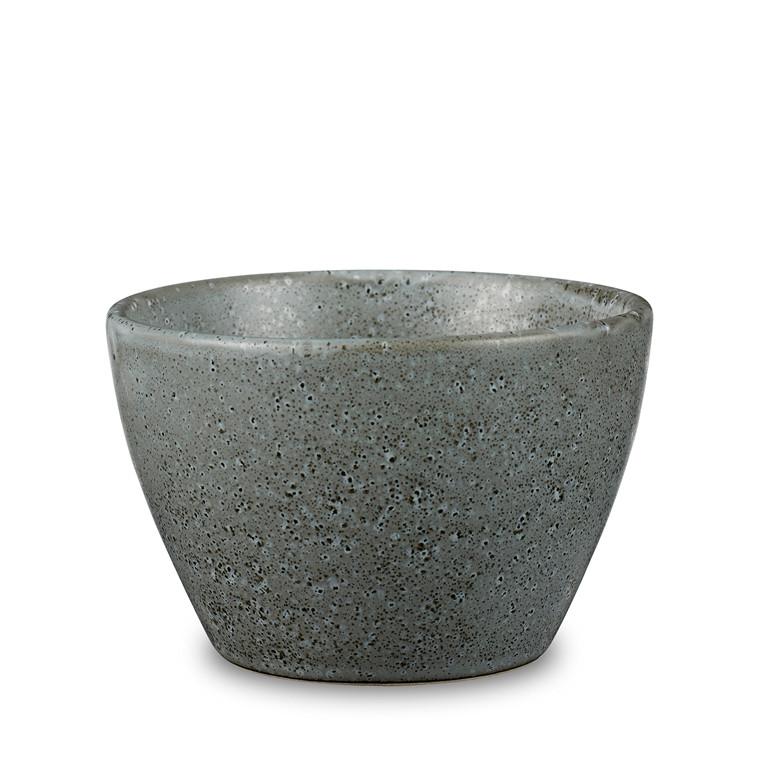 BITZ skyrskål Ø13 cm grå stentøj