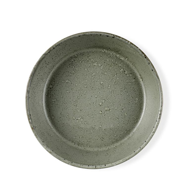 BITZ Suppeskål Ø 18 cm grøn stentøj