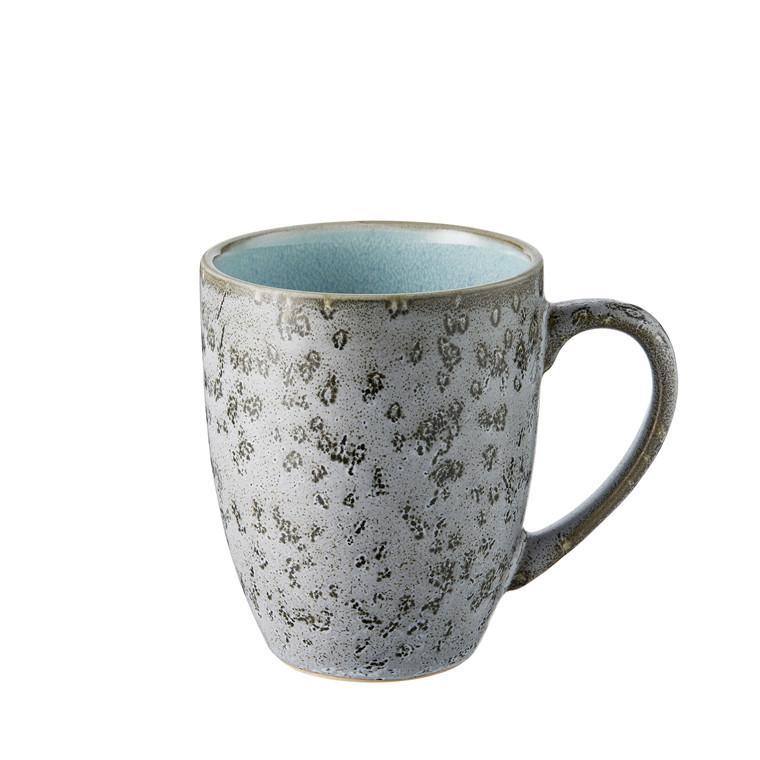 BITZ Krus 30cl grå/lysblå