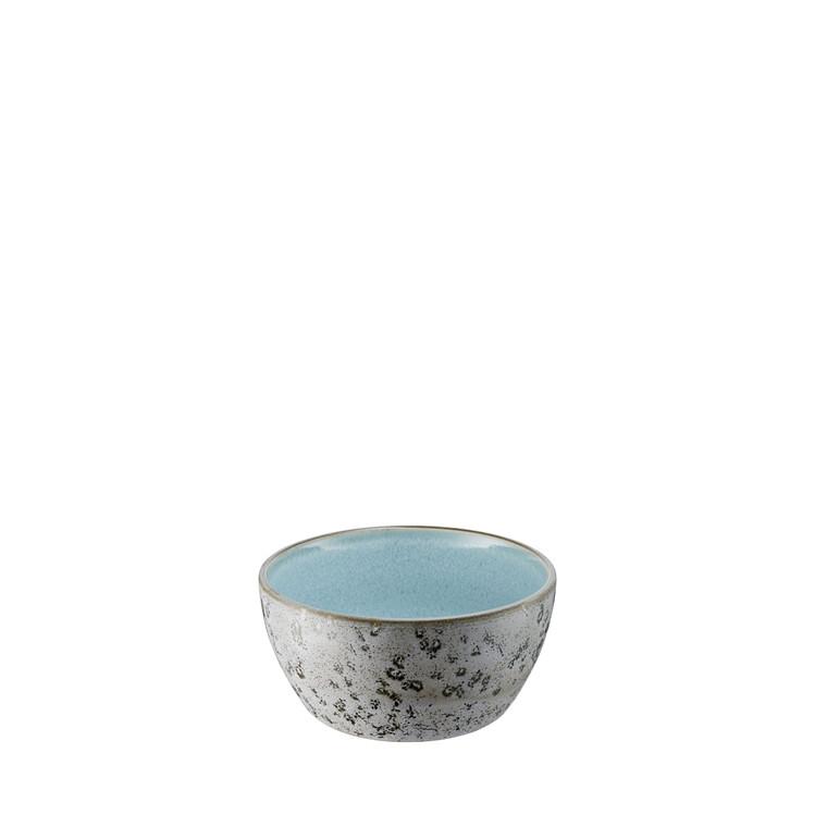 BITZ Skål 6x12cm grå/lysblå
