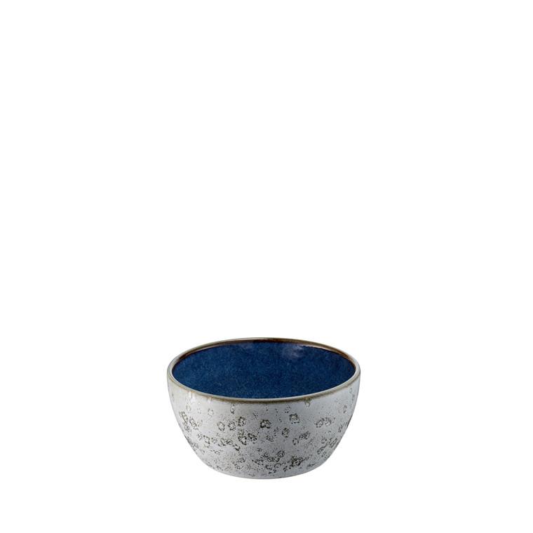 BITZ Skål 6x12cm grå/mørkblå