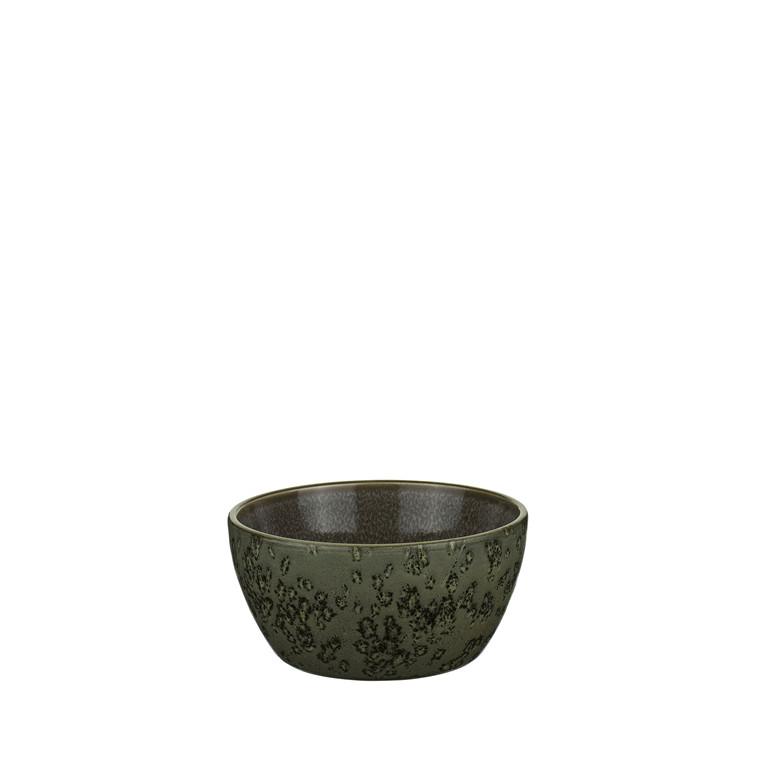 BITZ Skål 6x12cm grøn/grå