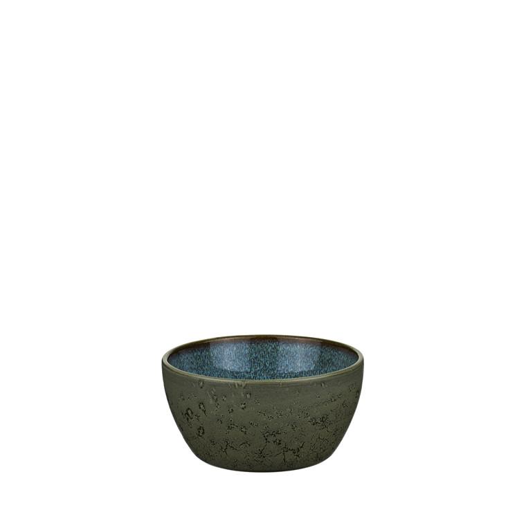 BITZ Skål 6x12cm grøn/mørkblå