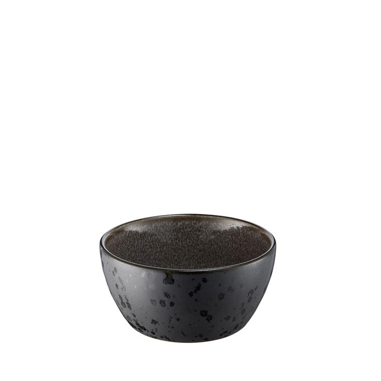 BITZ Skål 6cm  Ø12cm sort/grå Bitz