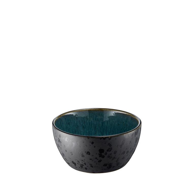 BITZ Skål 6x12cm sort/grøn