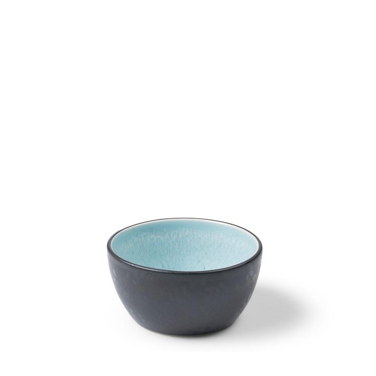 BITZ Skål Ø10cm sort/lysblå