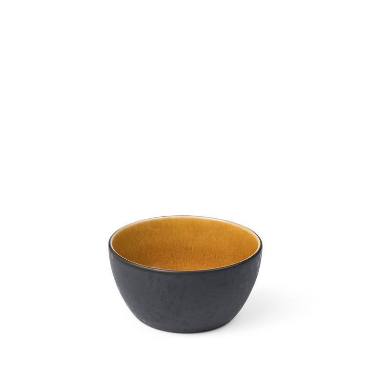 BITZ Skål Ø12cm sort/amber