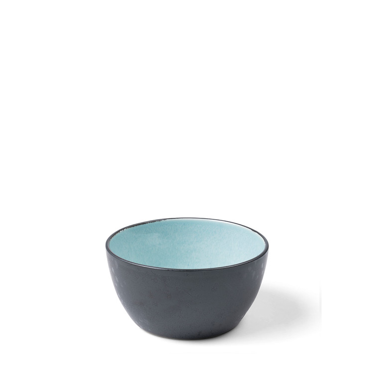 BITZ Skål Ø14cm sort/lysblå