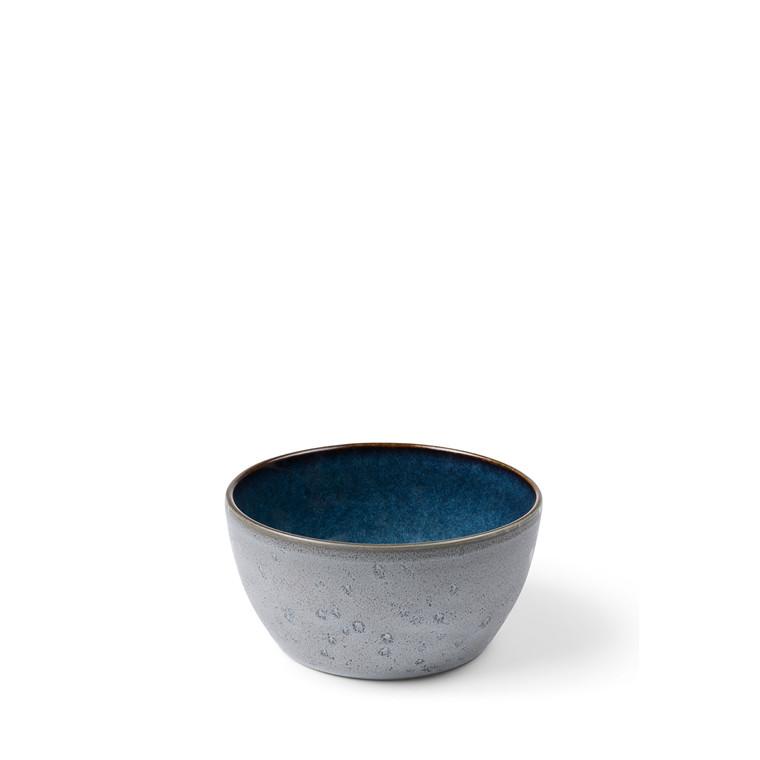 BITZ Skål Ø14cm grå/mørkblå
