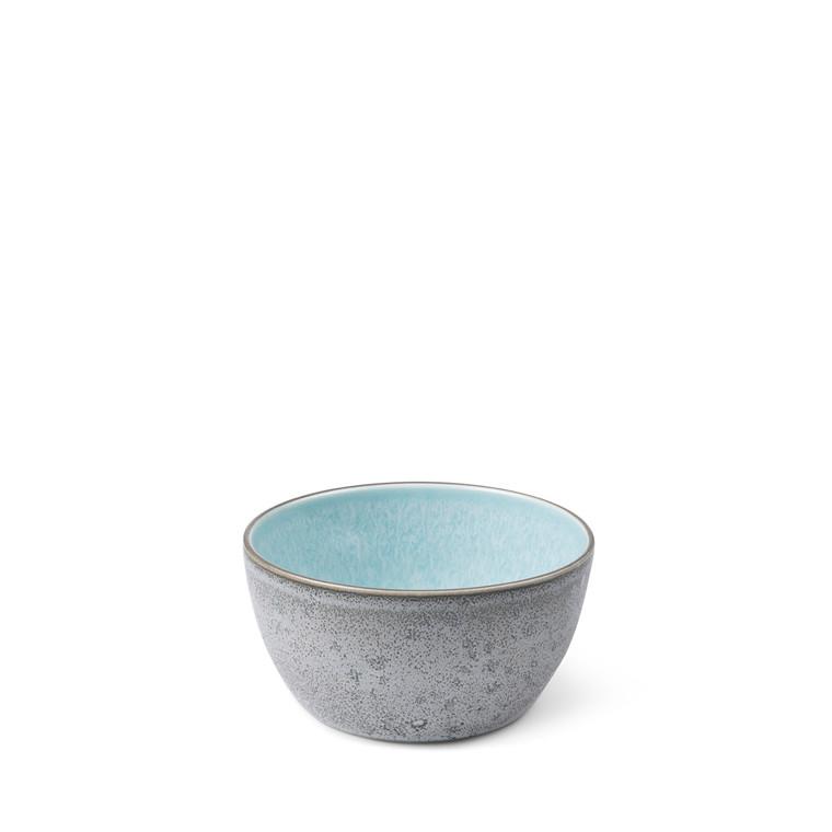 BITZ Skål Ø14cm grå/lysblå