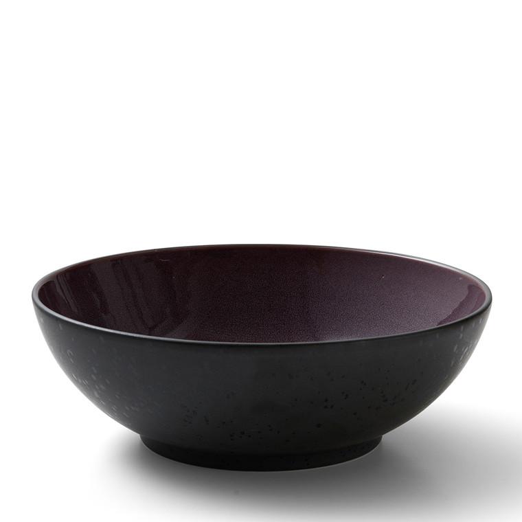BITZ Salatskål Ø30cm sort/lilla