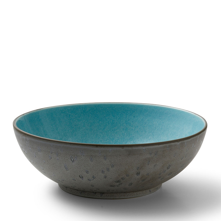 BITZ Salatskål Ø30cm grå/lysblå