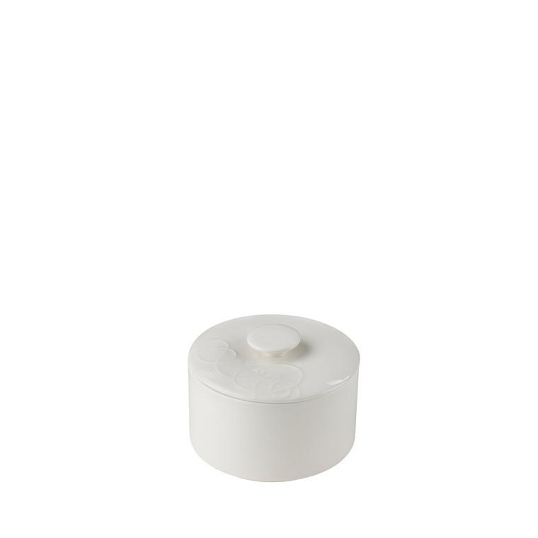 Blomsterberg kagekrukke �� 16 cm hvid