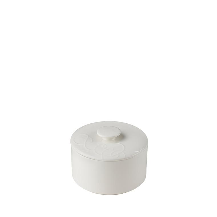 Blomsterberg kagekrukke Ø 18 cm hvid