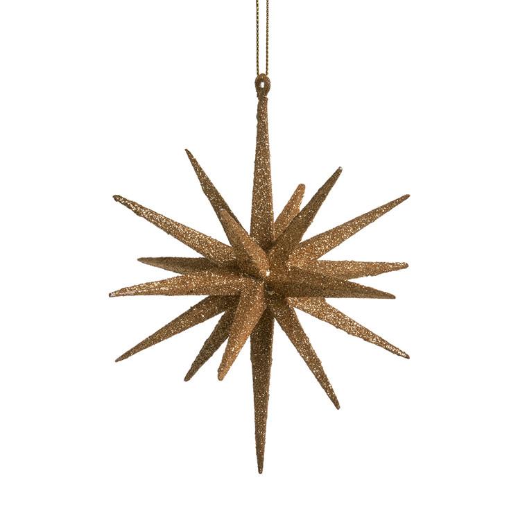 MEDUSA Stjerne 15 cm 2 stk. guld