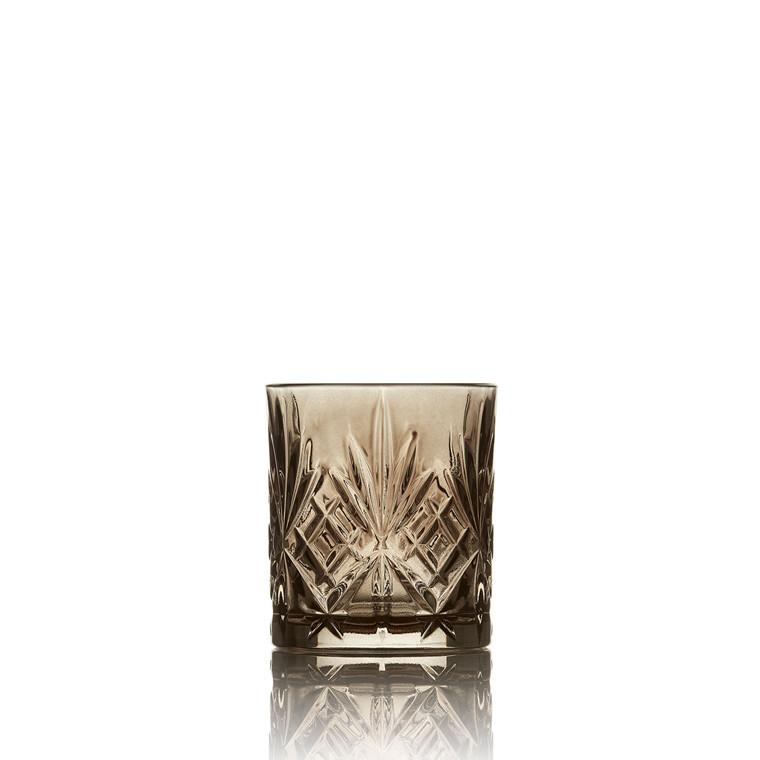 LYNGBY Melodia whiskyglas 4 stk. sort
