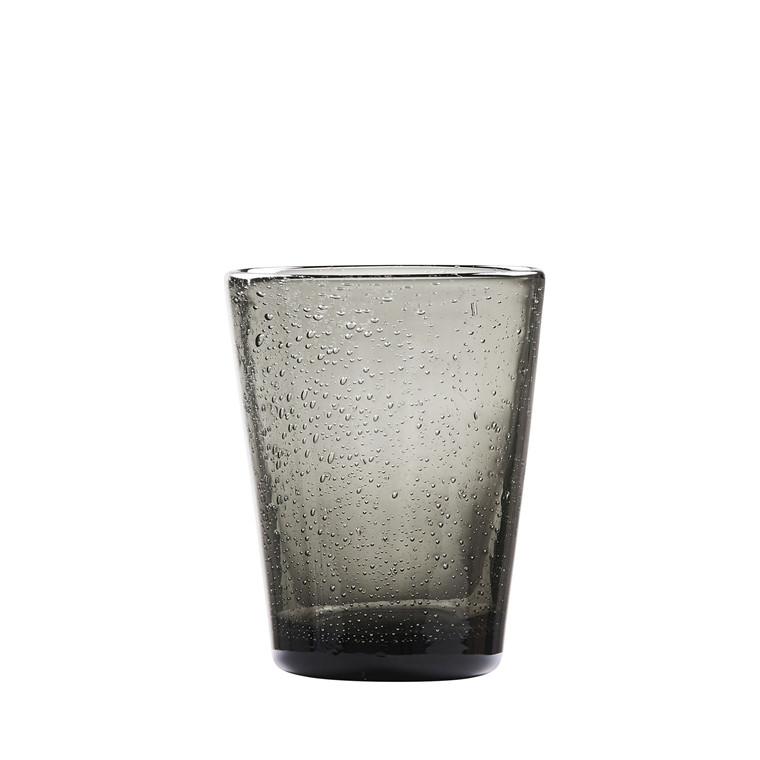 LYNGBY Vandglas Bobler 30cl 3st smoke