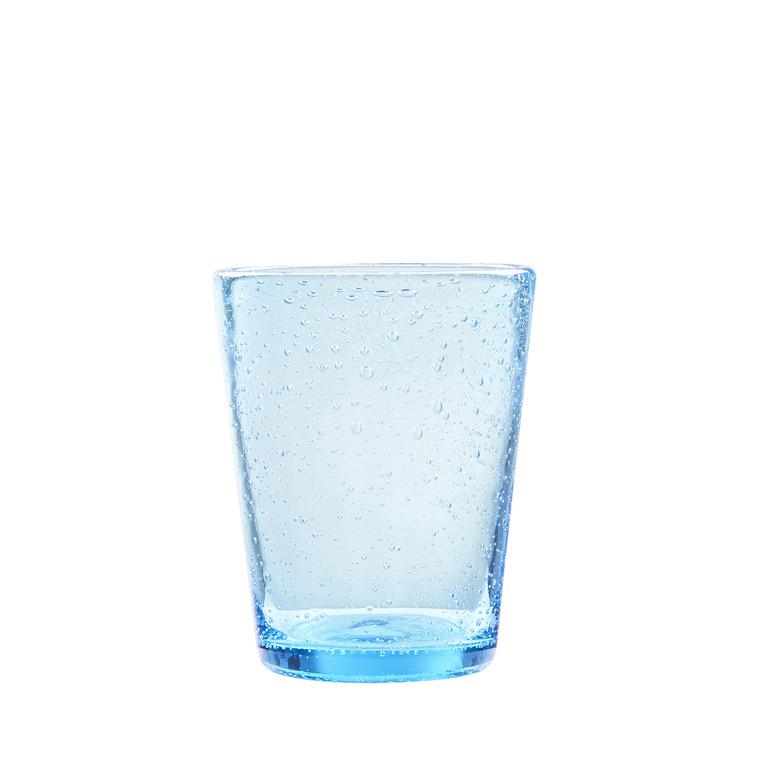 LYNGBY Vandglas Bobler 30cl 3st. blå