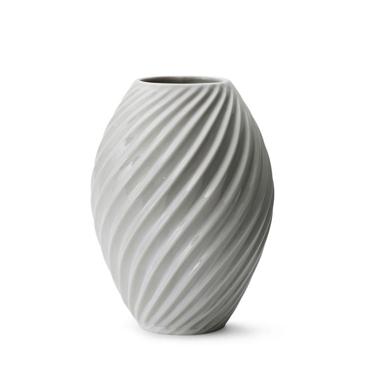 MORSØ Vase River 21 cm hvid