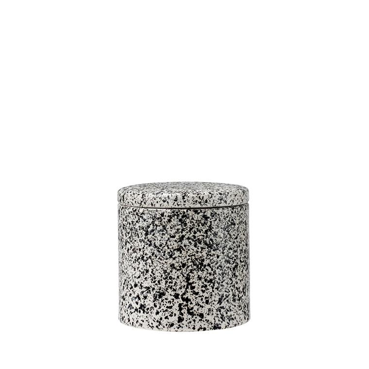 Södahl Clean krukke med låg nature pebbles