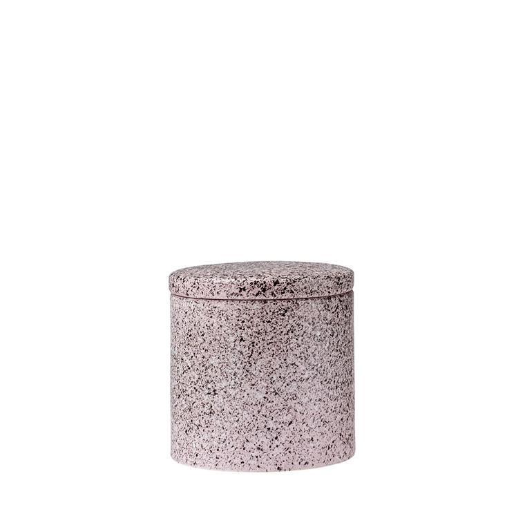 Södahl Clean krukke med låg rose pebbles