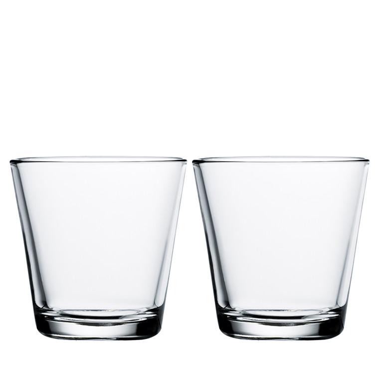 Iittala Kartio glas 21 cl klar 2 stk.