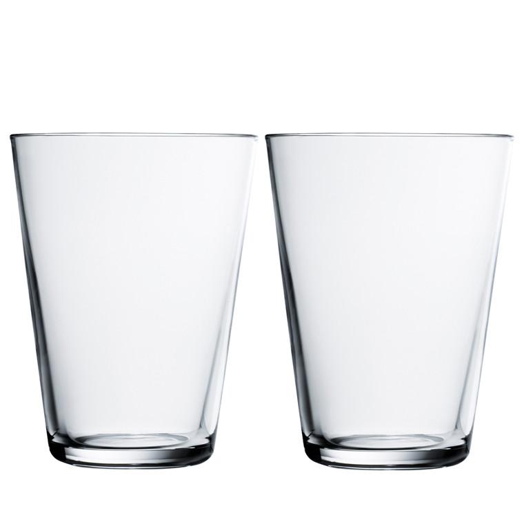 Iittala Kartio glas 40 cl klar 2 stk.