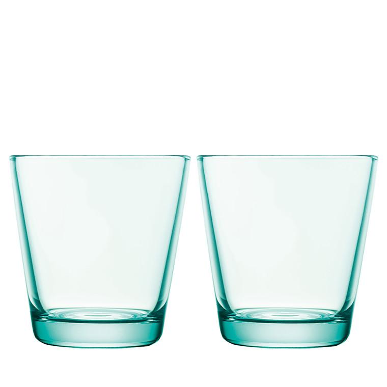 Iittala Kartio glas 21 cl vandgrøn 2 stk.