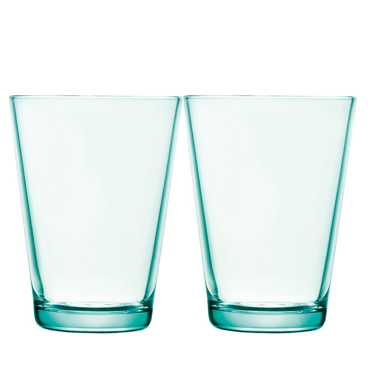 IITTALA Kartio glas 40 cl vandgrøn 2 stk.
