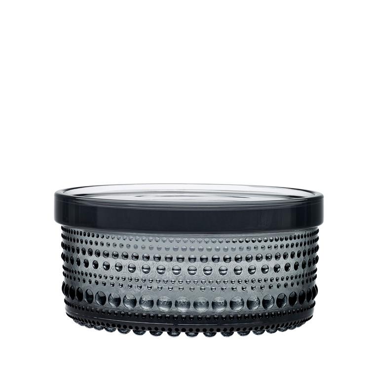 Iittala Kastehelmi krukke 5,7 cm grå
