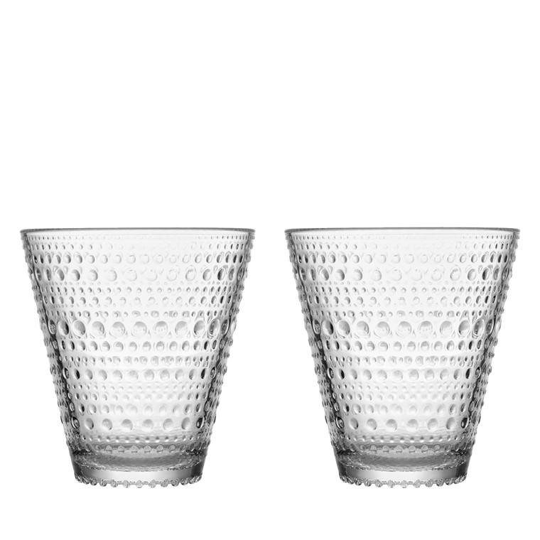Iittala Kastehelmi glas 30 cl 2 stk. klar