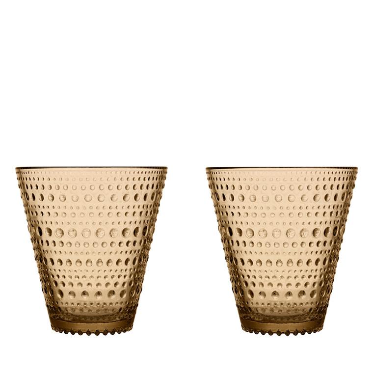 Iittala Kastehelmi glas 30 cl 2 stk. ørken