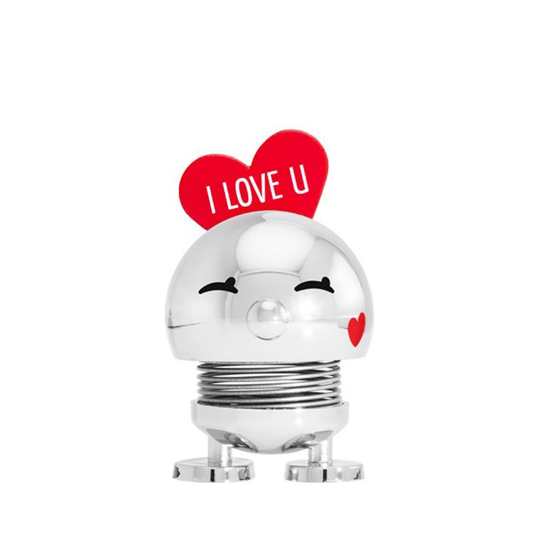 HOPTIMIST Baby Bimble LOVE - Chrome