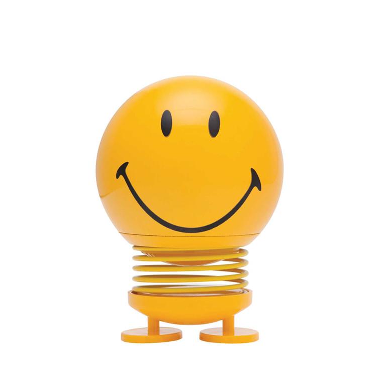 HOPTIMIST Smiley stor gul