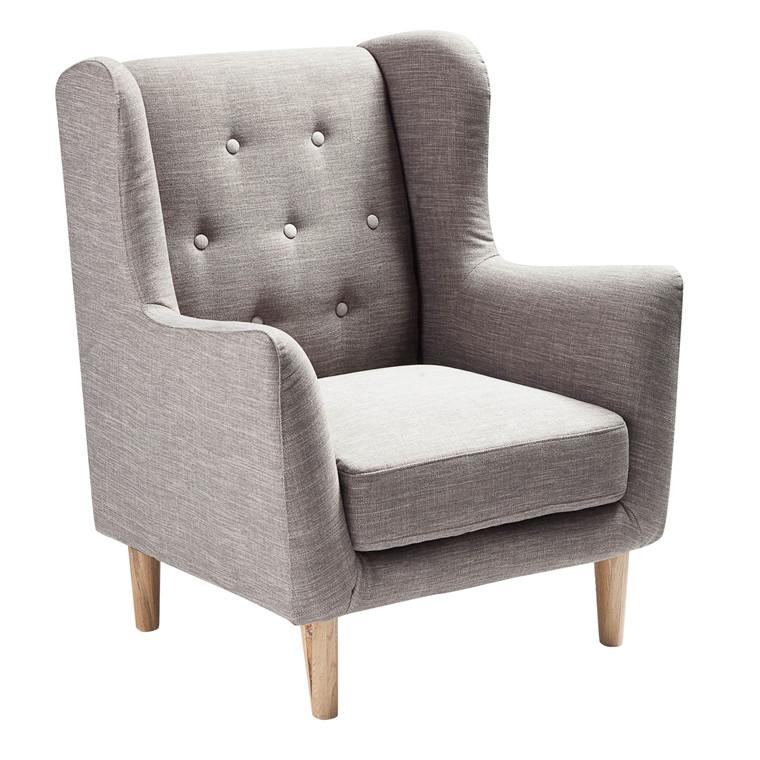 KEY WEST loungestol grå