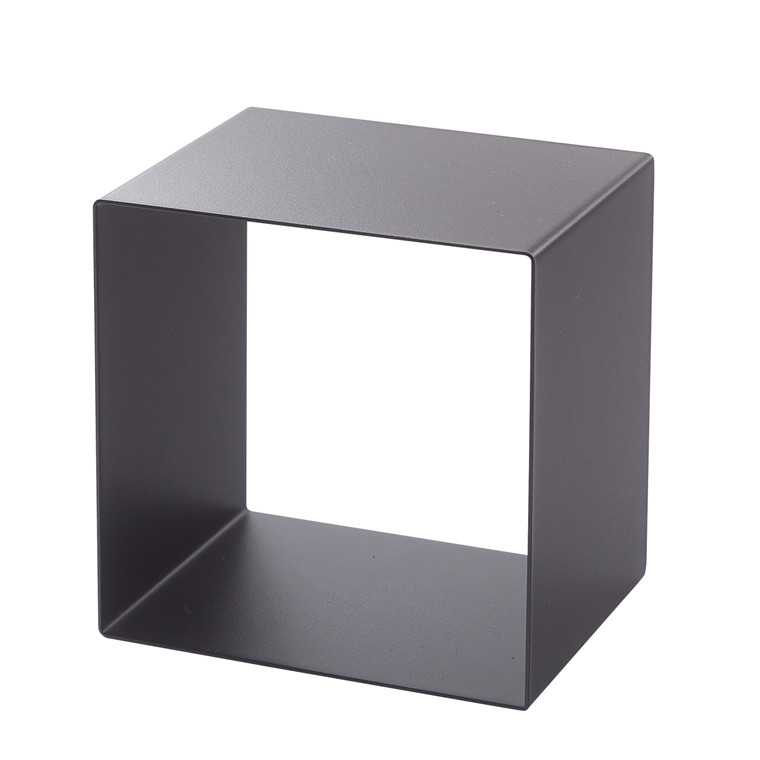SHAPE IT metalbogkasse sort 23 x 23 x 18 cm