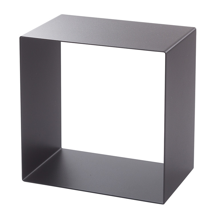 SHAPE IT metalbogkasse sort 29 x 29 x 18 cm