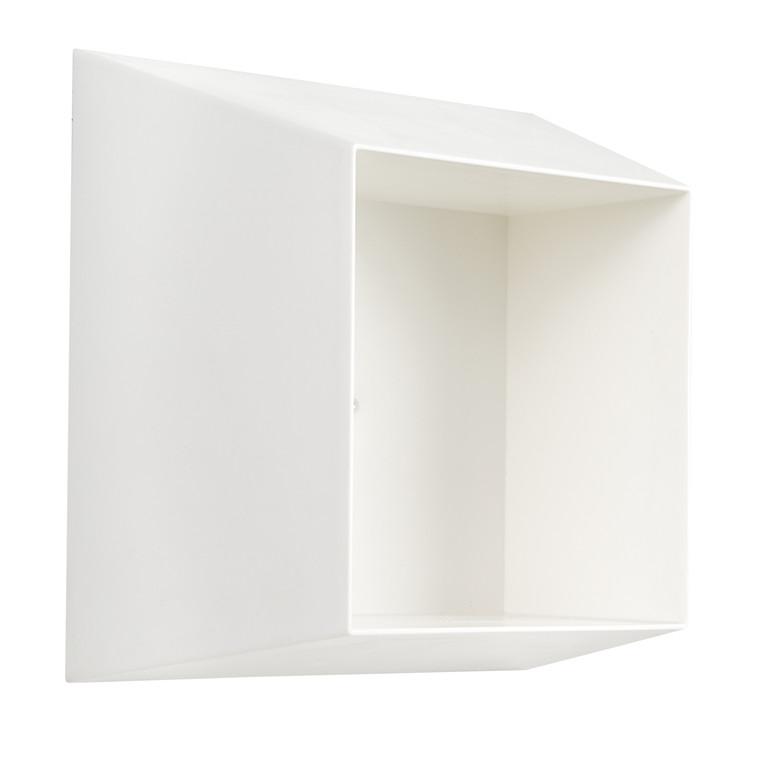 GIM kube hylde hvid