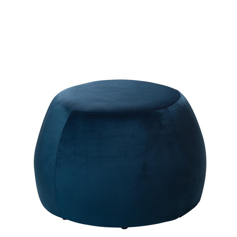 PERTH puf petrolblå