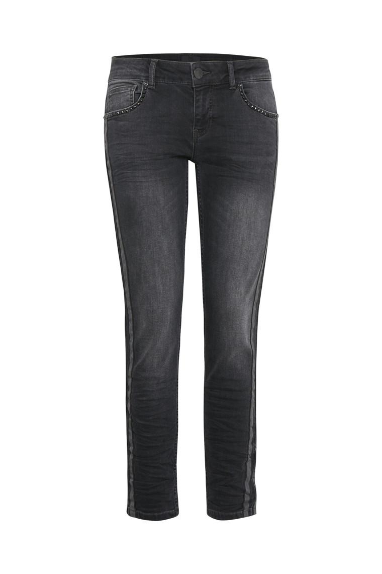 PULZ Belinda højtaljede jeans