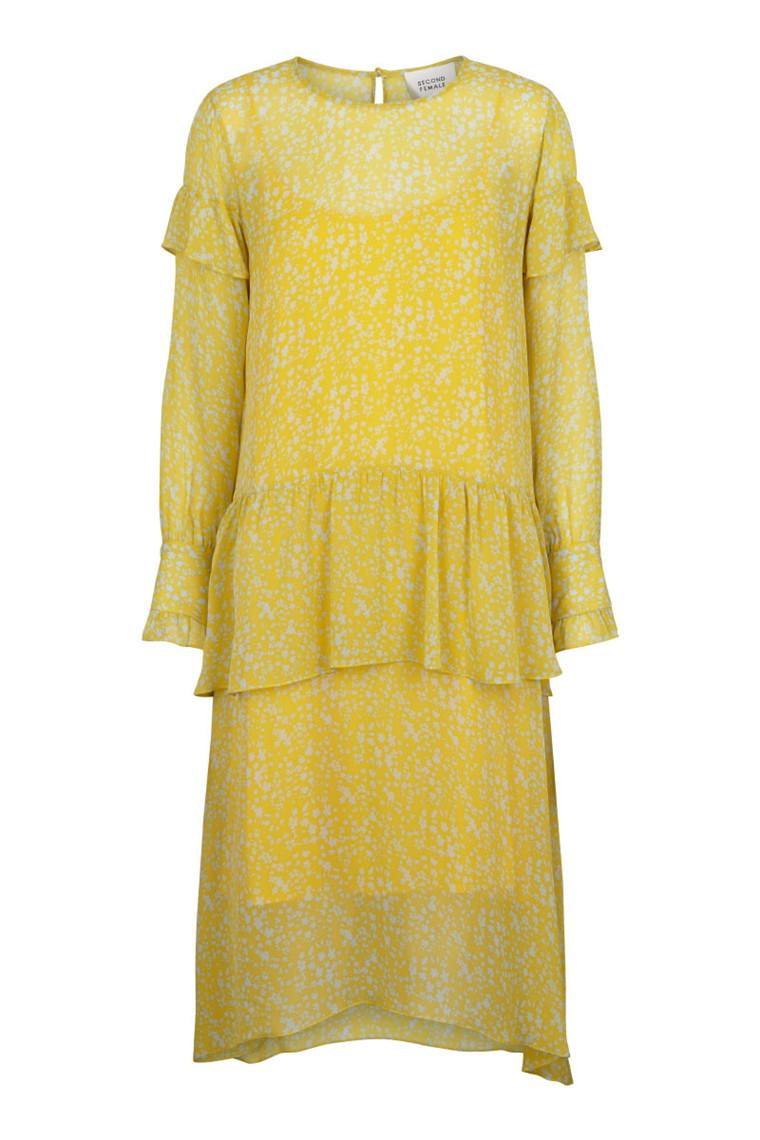e3e3dcad71f JUST FEMALE Margit maxi kjole » Køb den her